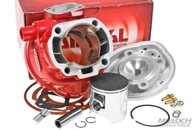 Cylinder Kit Airsal Racing X-TREM 88cc, skok 45mm, Minarelli LC, sworzeń 12mm