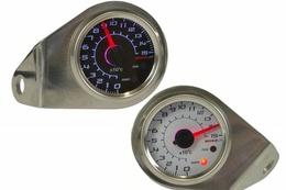 Termometr Koso GP Style 48 (0-150°C, niebieskie podświetlenie)