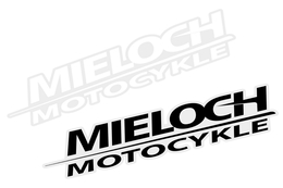 Naklejka Mieloch Motocykle V2, 88x22mm