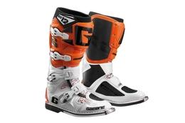 Buty Gaerne SG12, biało-pomarańczowe