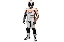 Kombinezon jednoczęściowy Stage6 Racing MKII, biały
