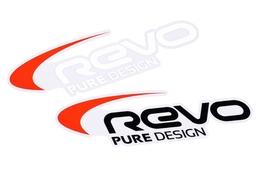 Naklejka Revo 89x30mm