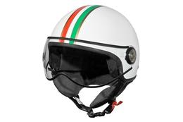 Kask TNT Jet Puck Italia, biały