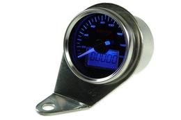Licznik Koso GP Style II (d.55mm, do 160km/h, niebieskie podświetlenie)