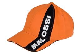 Czapka Malossi Pit Line, pomarańczowa