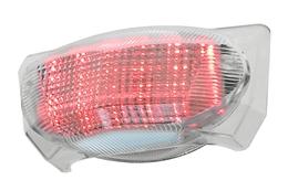 Lampa LED, biały klosz, Husqvarna / Malaguti XTM, XSM / MBK X-Limit / Yamaha DT R, DT X (E)