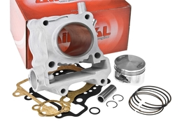 Cylinder Kit Airsal Sport 125cc, Honda Pantheon / S Wing / SH / Dylan / PS 125 4T LC (bez głowicy)