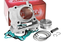 Cylinder Kit Airsal Sport 153cc, Honda Pantheon / S Wing / SH / Dylan / PS 125 4T LC (bez głowicy)