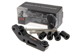 Adapter 4-tłoczkowego zacisku Stage6 R/T, Booster / Runner / Aerox