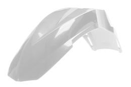 Błotnik przedni Polisport Supermoto, uniwersalny, biały