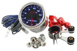 Obrotomierz Koso GP Style 48 (14000obr/min, carbonowe tło, niebieskie podświetlenie)