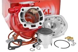 Cylinder Kit Airsal Racing X-TREM 70cc, Minarelli LC, sworzeń 12mm