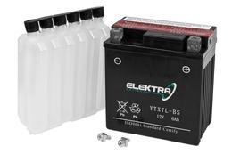Akumulator bezobsługowy Elektra 12V 6Ah, 114x71x131mm