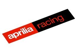 Naklejka Aprilia Racing 87x20mm