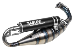 Wydech Yasuni Carrera 21 Black Aluminium, Gilera / Piaggio