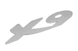 Emblemat boczny X9, Piaggio X9 125 01-02 / 180 00-03 / 200 02-03 / 250 00-01 / 500 01-02