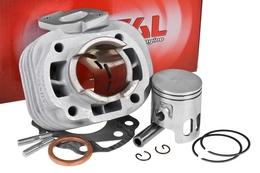 Cylinder Kit Airsal T6 50cc, Minarelli leżące AC (bez głowicy)