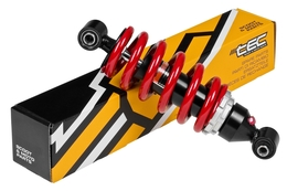 Amortyzator tylny Tec R, czerwony, 257mm, MBK X-Power / Yamaha TZR 03-11