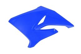 Osłona chłodnicy, lewa, niebieska, MBK X-Limit Enduro, X-Limit SM / Yamaha DT 50 R/X 06-10