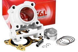 Cylinder Kit Airsal T6 125cc, Yamaha X-Max / WR R / WR X / YZF R 125 (bez głowicy)