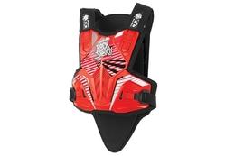 Pancerz / protektor Polisport Rocksteady Fusion, krótki, czerwony