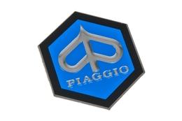 Emblemat Piaggio, naklejany, 42mm
