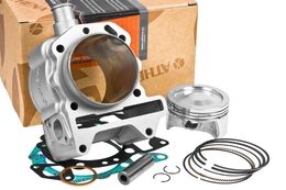 Cylinder Kit Athena Aluminium 209cc, Piaggio Leader LC 125-200 (bez głowicy)